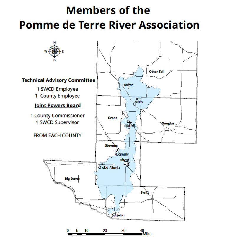 Members of the Pomme de Terre River Association
